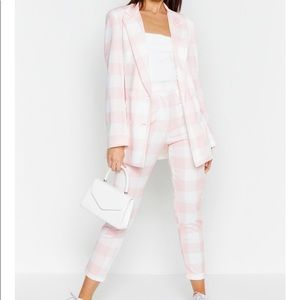 Pink&White Co-Ord suit set